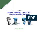 Kalibrasi Transmitter Rosemount