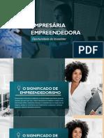 Empresária Empreendedora