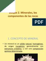 Bloque 2. Los Minerales Componentes de Las Rocas