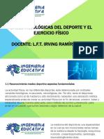 Bases Fisiologicas Del Deporte y El Ejercicio Fisico Unidad 1