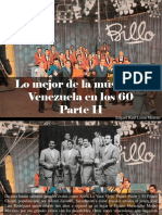 Edgard Raúl Leoni Moreno - Lo Mejor de La Música en Venezuela en Los 60, Parte II