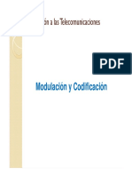 Tema 2 Modulación & Codificación