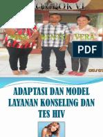 Adaptasi layanan konseling HIV