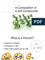 Percent Composition of Mixtures and Compounds