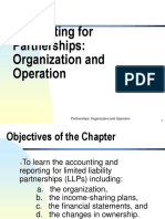 Accounting for Partnerships