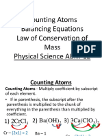 Balancing Equations (1)