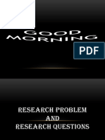 Research vs Research Problem