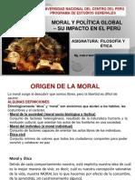 Moral y Política Global
