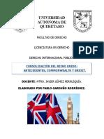 Ensayo Consolidacion Del Reino Unido- Dipub