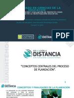 Jose Fernando Montealegre G Actividad 1.2 Presentación Conceptos Centrales Del Proceso de Planeación