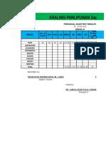 New Test Result Format 2019
