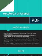MECÁNICA DE GRUPOS.pptx