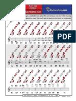 3983553 FLAUTA TRANSVERSAL Tabela de Digitacao Armstrong