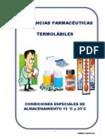 LISTADO DE MEDICAMENTOS TERMOSENSIBLES Y FOTOSENSIBLES
