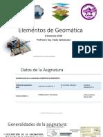 Elementos de geomatica