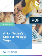 A Non Techies Guide to Website Jargon