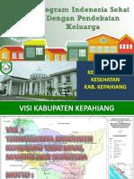Presentasi Kadis Pertemuan PIS PK