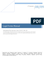 Legal Forms Manual Ateneo Law School (1)