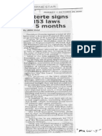 Philippine Star, oct. 28, 2019, Duterte signs 153 laws in 5 months.pdf