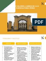 PPT Difundiendo Valores en El Puericultorio P.a - Final