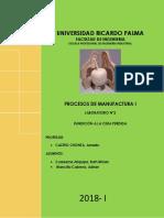 Laboratorio 2 Manufactura 2019 1