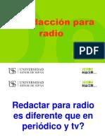 Redaccion Para Radio