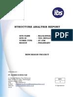 Structure Analysis Report ST 30M MAJALENGKA 08-September-16 Rev.0