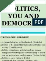 5. What is Politics