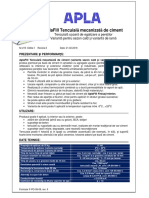 FT AplaFill Tencuiala Mecanizata Ciment 1
