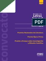 Bases Convocatoria Letras 2019 Web