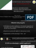 Presentazione PP GIS