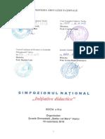 Regulament Simpozion Initiative Didactice 2019