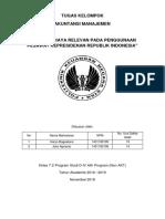 TUGAS KELOMPOK Bab 12_Analisis Biaya Relevan Pesawat Kepresidenan
