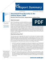 Household Food Security Summary