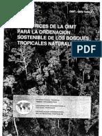 PS-1-S (1992) Directrices OIMT Para La Ordenación Sostenible de Los Bosques Tropicales Naturales