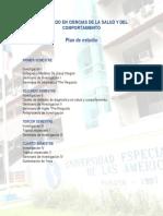 Doctorado en Ciencias de La Salud y Del Comportamiento 1