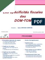 Spécificités Fisacles Adaptées Au DOM TOM