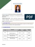 Swati CV