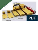 Gold - Visualized in Bullion Bars
