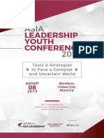 Asia Leadership Youth Conference E Booklet