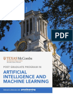 UT Austin Texas PGP AIML Brochure