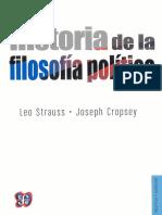 Strauss - Historia de la filosofía política.pdf