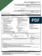 Application for MC DD TT FCY 03062018 Unionbank