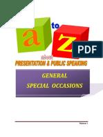 At Oz Presentation Public Speaking