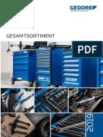 Gedore Katalog 2019