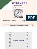 fachwoerterbuch Übersetzung