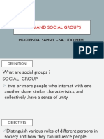 Teens and Social Groups