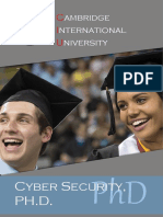 Doctor Philosophy Cyber Security PHD