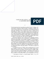 Luis G. Urbina a Alfonso Reyes. Cartas