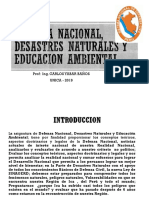 1. Defensa Nacional Desastres Naturales y Educacion Ambiental